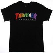 Rainbow Mag S/S T-Shirt - Black
