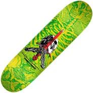 Peralta Skull & Sword #244 8.5inch Skateboard Deck - Yellow