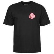 Lizzie Spilt Milk S/S T-Shirt - Black