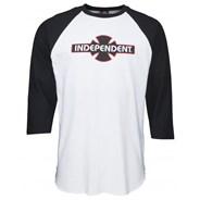 O.G.B.C. 3/4 Sleeve Baseball T-Shirt - Black/White