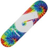 Giant B Logo Tie Dye 8 Skateboard Deck - Multi