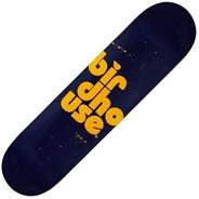 Stacked Spray 7.75 Skateboard Deck - Navy
