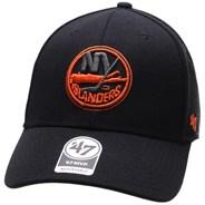 NHL 47 MVP Black Snapback Cap - New York Islanders