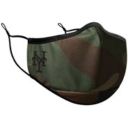MLB Camo On Field Face Mask - New York Mets
