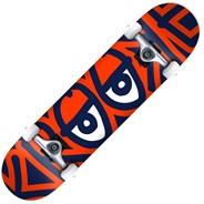 Bigger Eyes Lg 8inch Complete Skateboard - Multi