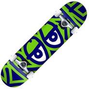 Bigger Eyes XL 8.25inch Complete Skateboard - Multi