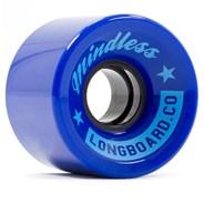 Cruiser Longboard Wheels - Dark Blue