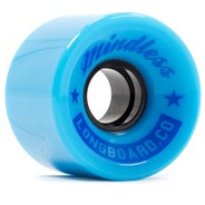 Cruiser Longboard Wheels - Light Blue