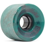 Cruiser Longboard Wheels - Swirl Teal