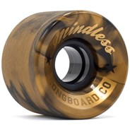 Cruiser Longboard Wheels - Swirl Bronze