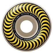 Formula Four Classics 99DU Natural 55MM Skateboard Wheels - Yellow