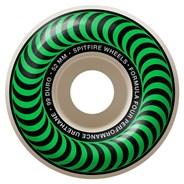 Formula Four Classics 99DU Natural 52MM Skateboard Wheels - Green