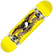 Classic Eagle Mini 7.3inch Complete Skateboard - Yellow