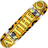 Blackhero MD 7.75inch Complete Skateboard - Orange