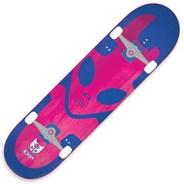 Exp Blue 7.25inch Mini Complete Skateboard