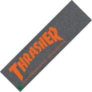 Skate Mag Orange Skateboard Griptape - Black