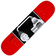 Brainwash Red 8inch Skateboard Deck
