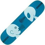 Mind Control Blue 8.125inch Skateboard Deck