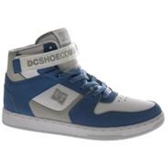 Pensford White/Light Blue Shoe