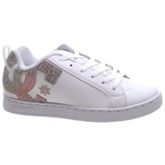 Court Graffik White/Rainbow Womens Shoe