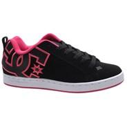 Court Graffik Black/Pink Stencil Womens Shoe