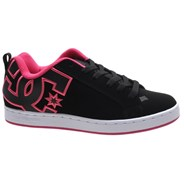 Court Graffik Black/Pink Stencil Womens Shoe