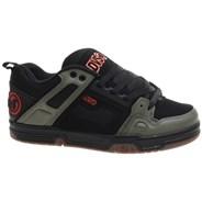 Comanche Black/Olive/Orange Nubuck Shoe