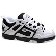 Comanche White/Black/White Leather Shoe