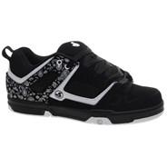 Gambol Black/White Nubuck Shoe