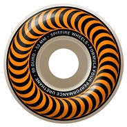 Formula Four Classics 99DU Natural 53MM Skateboard Wheels - Orange
