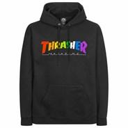 Rainbow Mag Hoody - Black