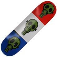 Gas Mask Bright 8.375inch Skateboard Deck