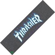 Thrasher Japan Flame Skateboard Griptape - Black