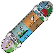 Peanuts Wind Water Fire Earth 8inch Complete Skateboard
