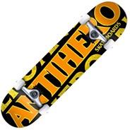 Blackhero Lg 8inch Complete Skateboard - Black