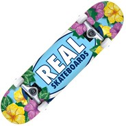 Oval Blossoms 8inch Complete Skateboard