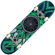 Dream Catcher Mini 7.25inch Complete Skateboard  - Blue/Teal