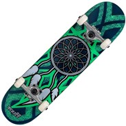 Dream Catcher Mini 7.25inch Complete Skateboard  - Blue/Teal