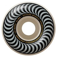 Formula Four Classics 101DU Natural 54MM Skateboard Wheels - Silver