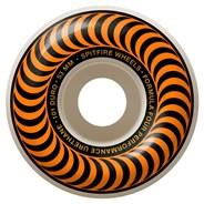 Formula Four Classics 101DU Natural 53MM Skateboard Wheels - Orange