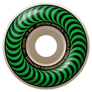 Formula Four Classics 101DU Natural 52MM Skateboard Wheels - Green