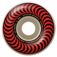 Formula Four Classics 101DU Natural 51MM Skateboard Wheels - Red