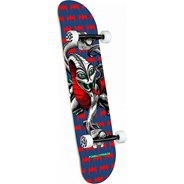 Cab Dragon One Off #191 Mini Complete Skateboard - Navy