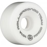 Team Logo 101a 62mm Artistic Roller Skate Wheels - White