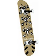 Vato Rats #242 8inch Complete Skateboard - Gold