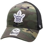 NHL Camo Branson 47 MVP Trucker Cap - Toronto Maple Leafs