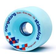Stimulus Freeride Longboard Wheels - Blue