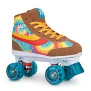 Legacy Tie Dye Quad Roller Skates - Brown/Multi