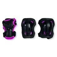 Skate Gear Jnr 3 Pack - Black/Pink