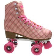 Impala Adult Quad Skate - Pink Tartan